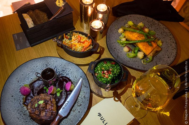 PULL – новый стильный ресторан в Ротерманни, Таллин