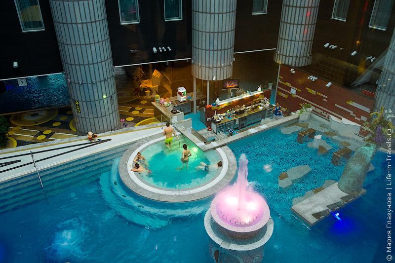 Tallink Spa & Conference Hotel – самая огромная СПА зона с бассейнами, саунами, джакузи и pool-баром в Таллине