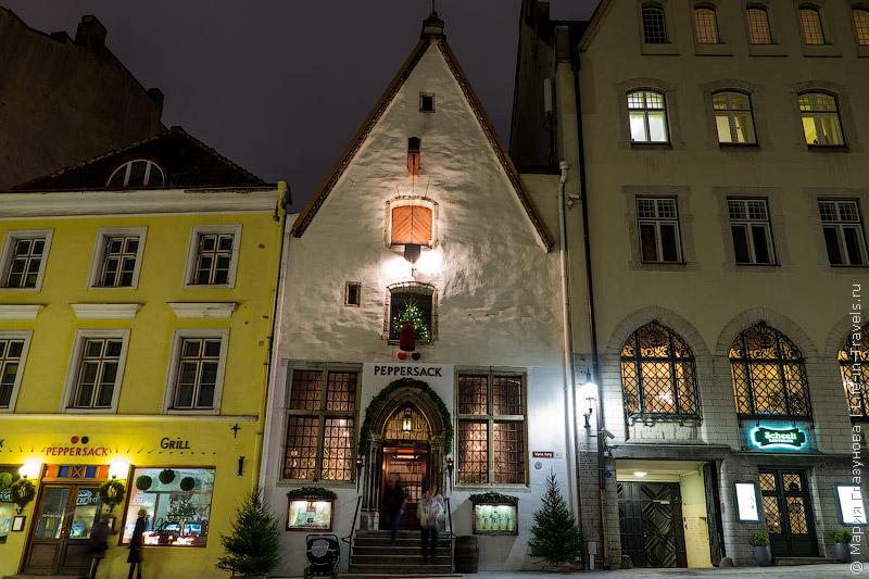 Peppersack – средневековый ресторан в центре Таллина