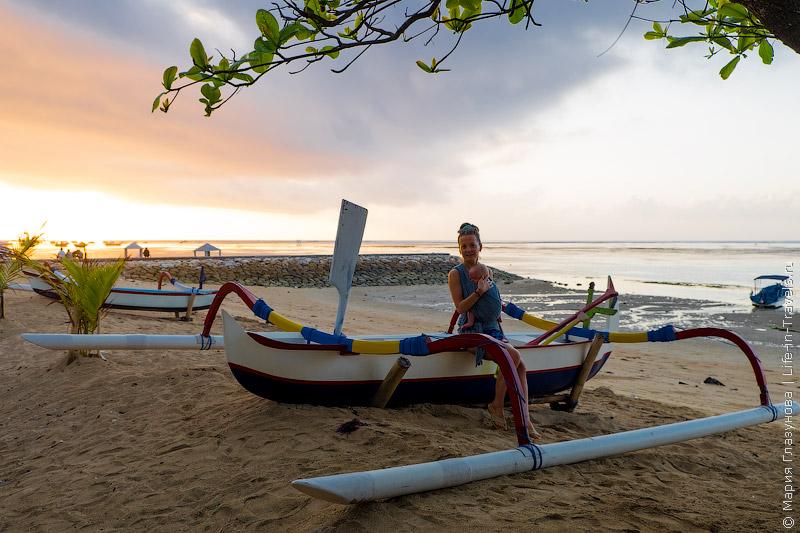 Пляж в Сануре, Бали