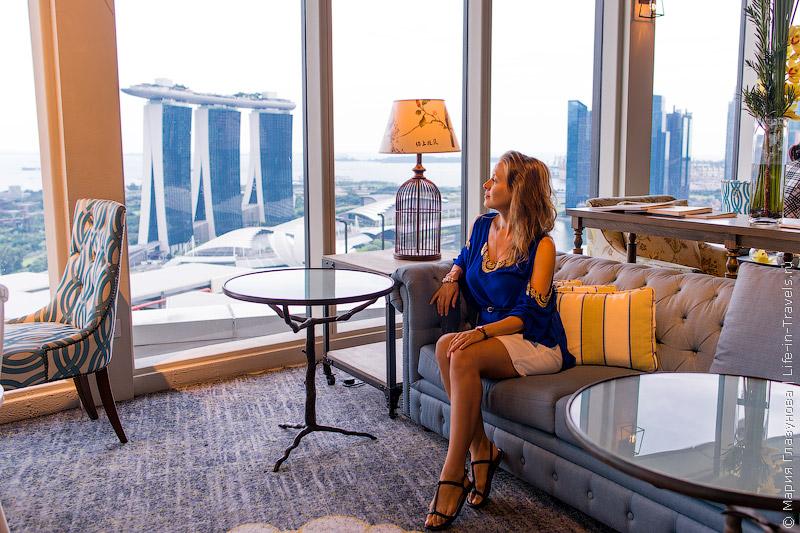 Отель Pan Pacific Singapore 5* – потрясающий вид на гавань Марина Бэй