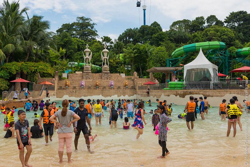 Adventure Cove Waterpark – аквапарк для детей в Сингапуре
