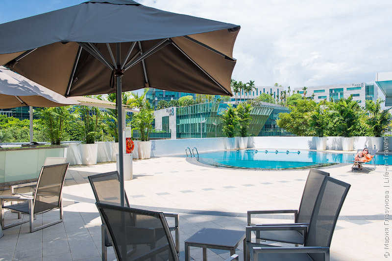 Capri by Fraser Changi –стильный отель рядом с аэропортом в Сингапуре