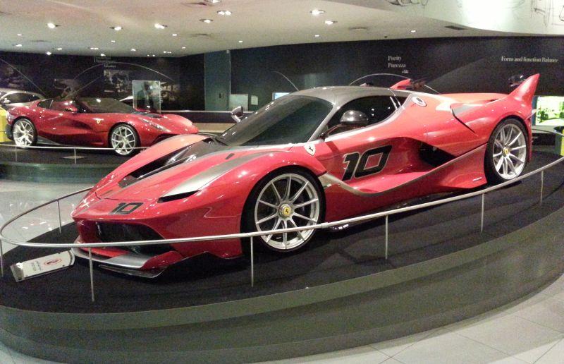 Галерея автомобилей Феррари