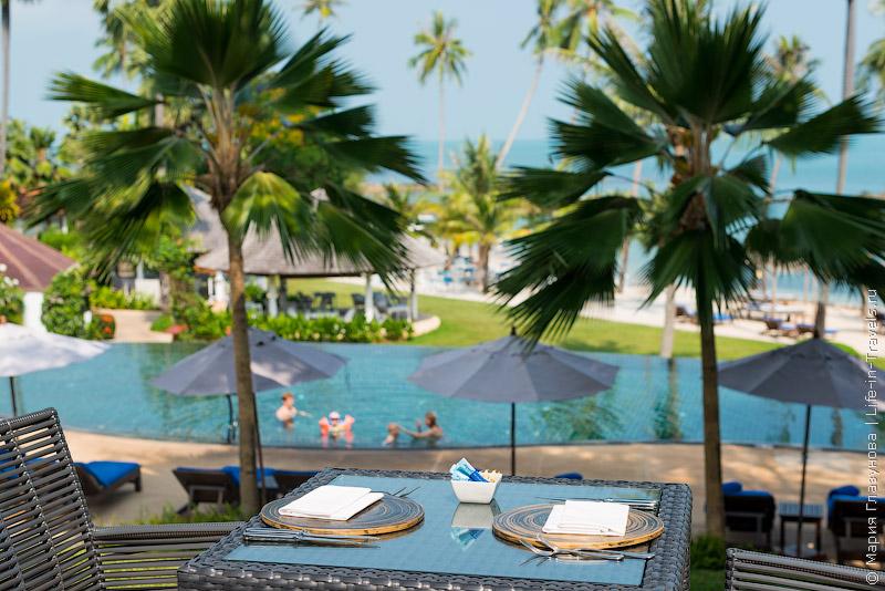 Belmond Napasai Samui - виллы с приватным пляжем на Самуи