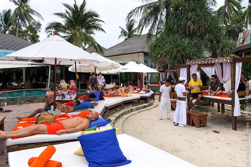Nikki Beach Samui – модный пляжный клуб на Самуи, пляж Липа Ной