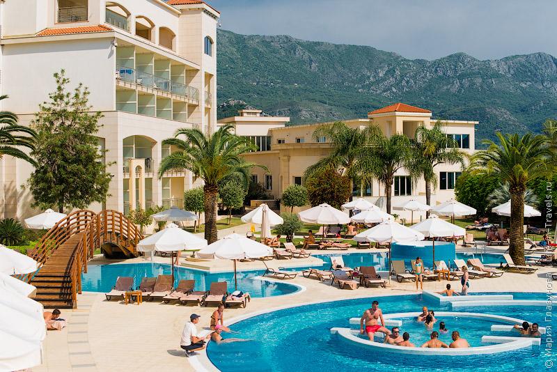 Splendid Conference & Spa Resort – приятный СПА курорт в Черногории, Будва, Бечичи