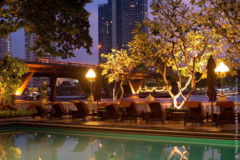 Shangri-La – приятный отель в Бангкоке на берегу реки