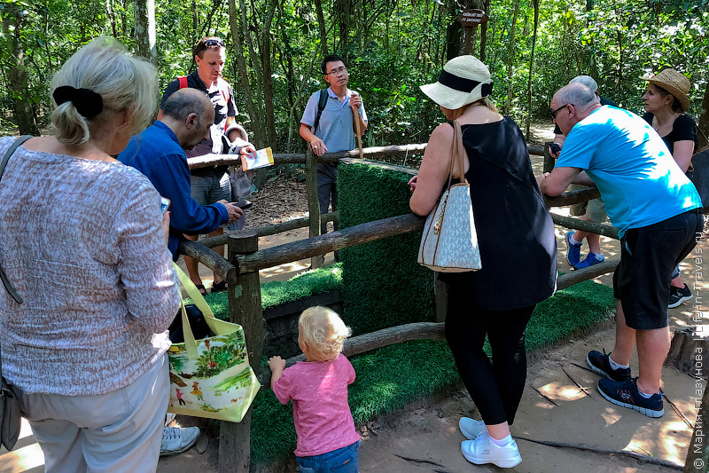 Тоннели Кучи - одна из самых популярных достопримечательностей в Хошимине