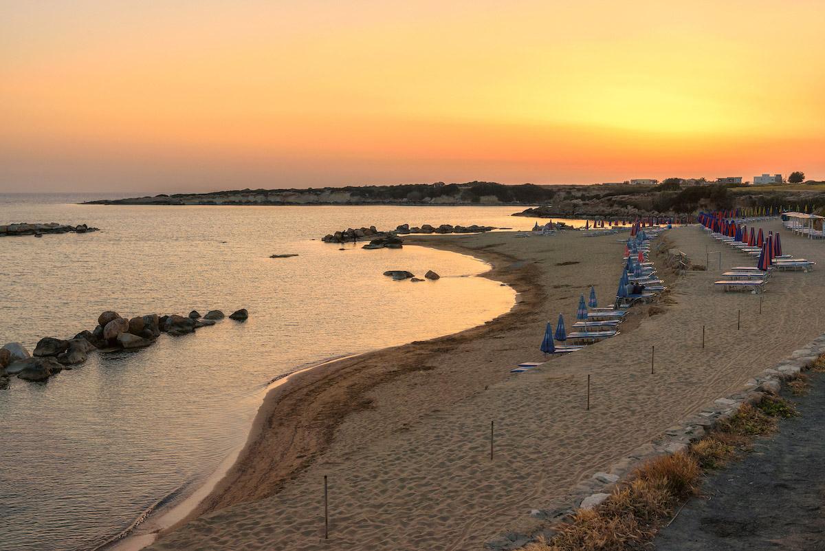 пляжи Кипра: Coralia Bay Beach