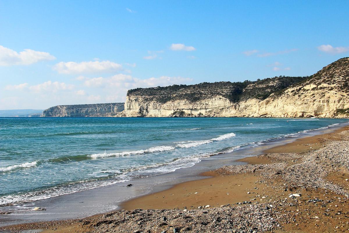 пляжи Кипра: Kourion beach