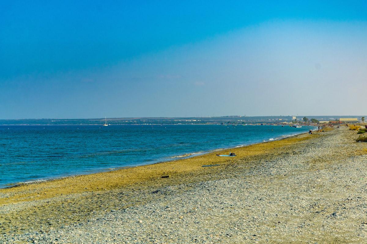 пляжи Кипра: Ladys mile beach