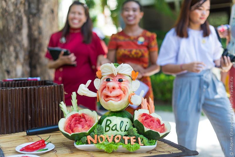 Novotel - семейный отель в Нуса Дуа
