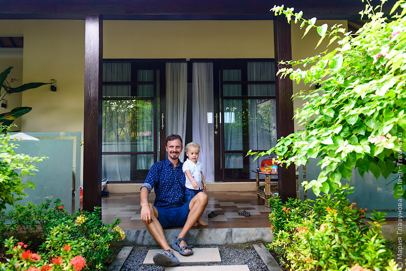 Villa Rossa – приятный отель в Чандидасе