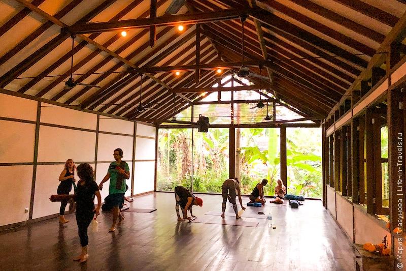 Йога на Бали и Radiantly Alive – одна из моих любимых йога-студий в Убуде