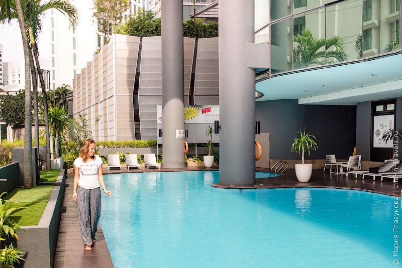 Dorsett Residences – полностью укомплектованные апартаменты с бассейном на крыше, Куала-Лумпур