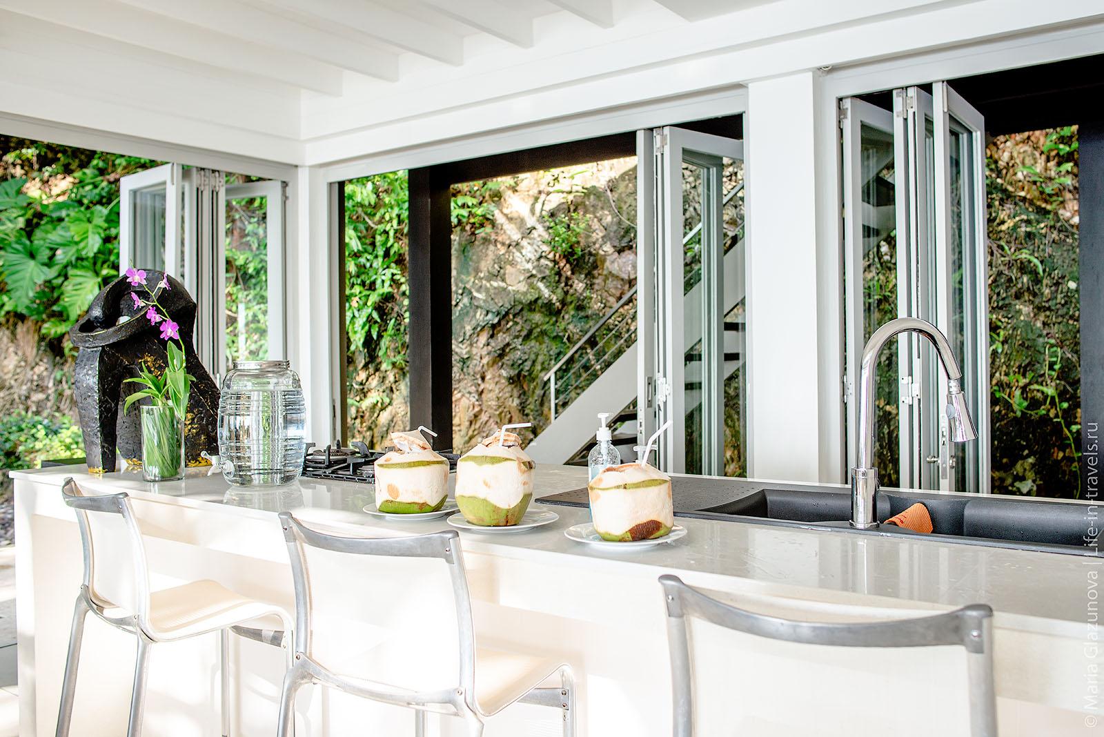 The Headland Villas – стильные виллы на скале с потрясающим видом, Самуи