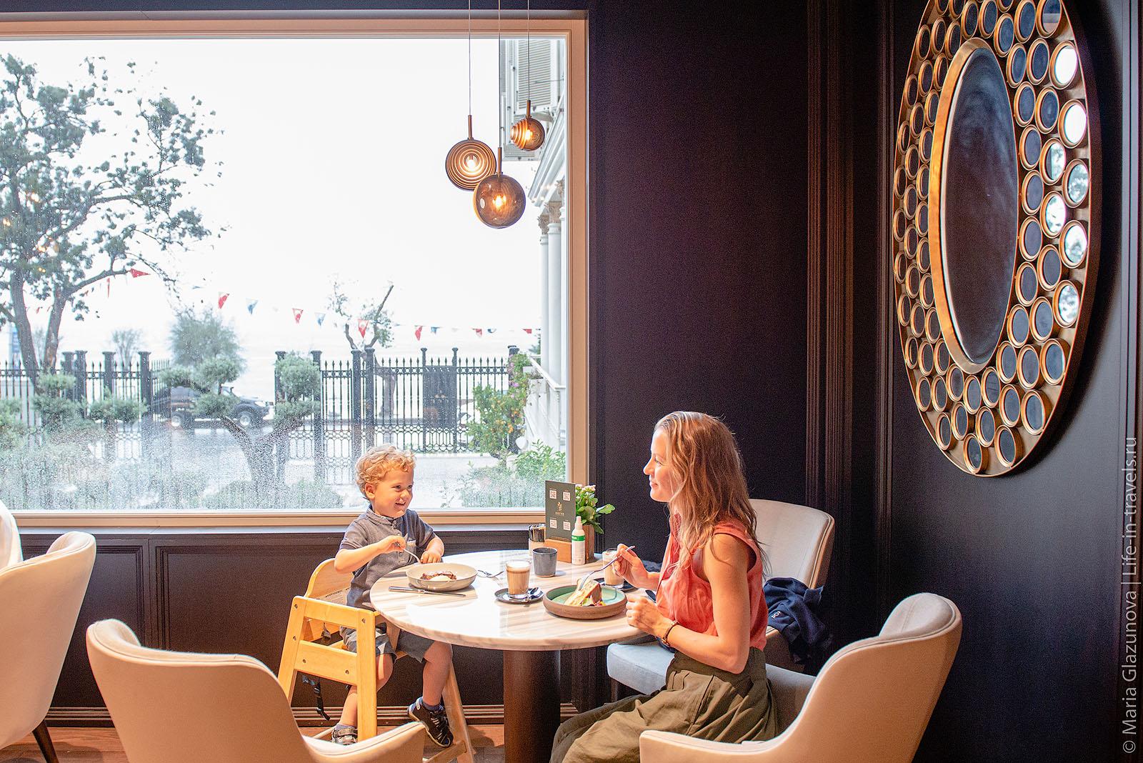 Defne Restaurant в Стамбуле, отель Six Senses Kocatas Mansions