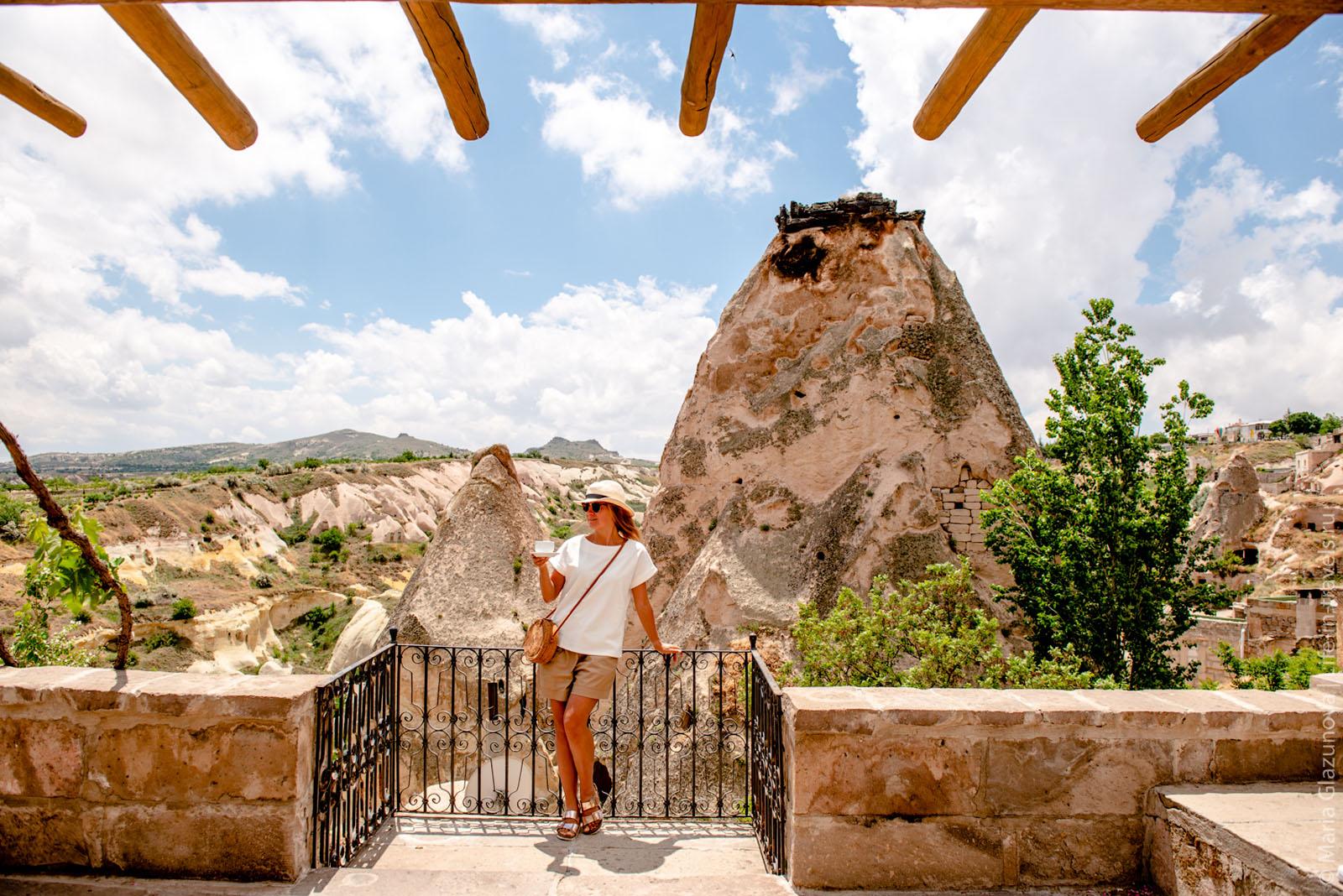 Les Maisons de Cappadoce – пещерный отель в Каппадокии